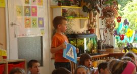 Konkursowe zmagania w przedszkolu Słoneczko